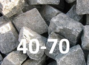 щебень 40-70